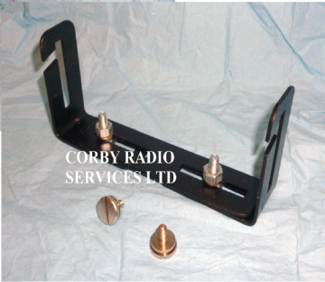 TAXI RADIO CRADLE FOR ICOM TWO WAY RADIO  &  2 THUMB SCREWS